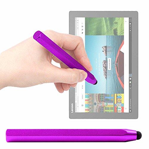 DURAGADGET Lápiz Stylus Morado para Tablet ASUS Transformer Pro T304, ZenPad 3S 10 LTE/DELL Latitude 5285, 5825, 7285 / Lenovo Miix 720, X1 Tablet (2017), Yoga Book 12.2'