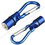 TOOGOO(R) LED Sicherheitsblinker Anhaenger Leuchtanhaenger Blau f. Hund Katze Halsband - 2