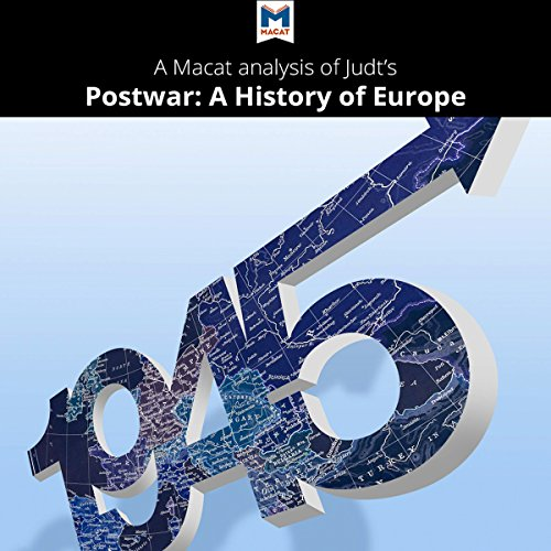 A Macat Analysis of Tony Judt's Postwar: A History of Europe Since 1945 audiobook cover art