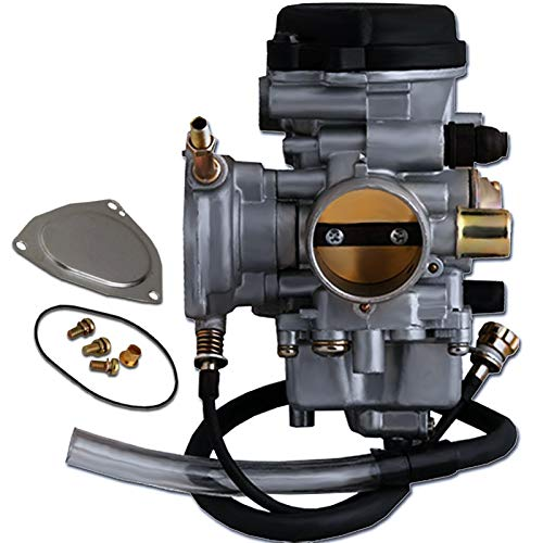 GLENPARTS Carburetor Replaces for Yamaha GRIZZLY 350 YFM350 2WD 4WD 2007 2008 2009 2010 2011 Quad