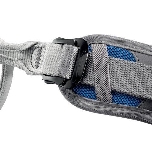 Petzl Klettergurte Corax - Linterna frontal, color azul, talla 1 ...