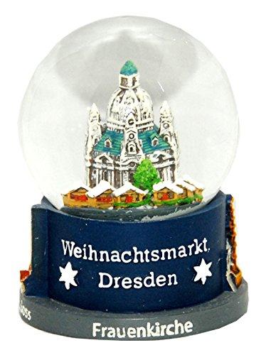 Souvenir Schneekugel Weihnachtsmarkt Dresden - 30020
