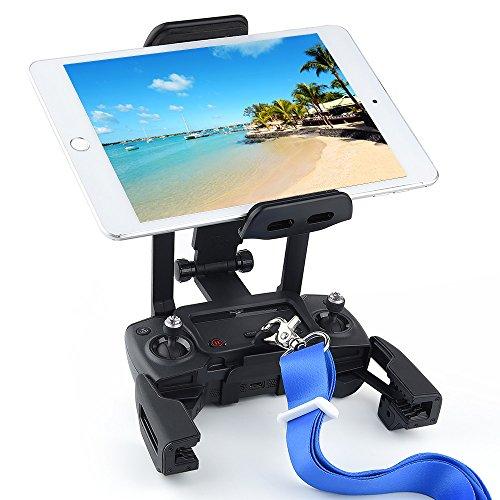 KUUQA Update Version 4-12 Zoll Tablet Halter Halterung Extender mit Trageriemen Kompatibel mit Mavic 2 / Mavic Pro / Mavic Air / Spark-Fernbedienung