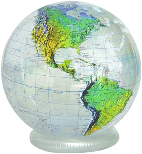 Web oficial Jet Jet Jet Creations 36 Inflatable Globe - Clear Topographic by Jet Creations  tomamos a los clientes como nuestro dios