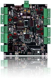 "Keri NXT-4D Doors.NET 4 Doors/8 Reader TCP/IP Controller, 10-14 VDC, 650 mA Current, 6-19/32"" Width x 5-19/32"" Height x 2-..."