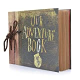 Fun Sponsor Scrapbook,Our Adventure Book,albumes Fotos,Álbum de Fotos DIY Libro de Visitas de...