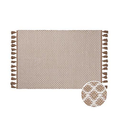 Butlers DÉJÀ VU In- und Outdoorteppich mit Tasseln L 180 x B 118cm