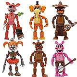 HOOGAO Juego caliente figuras de acción juguetes muñecos regalos de Navidad decoración de tartas regalo para fans de juegos 6 piezas