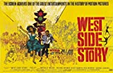 CLASSIC POSTERS West Side Story Foto-Nachdruck eines