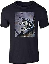 Warrior with Ball and Chain by Frank Frazetta Art Short Sleeve T-Shirt
