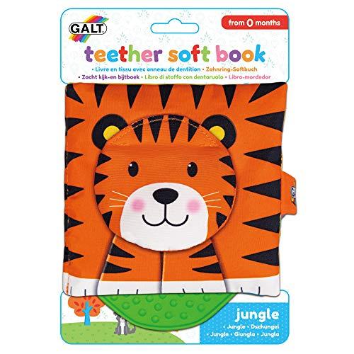 Galt Toys Jungle Teether Soft Book