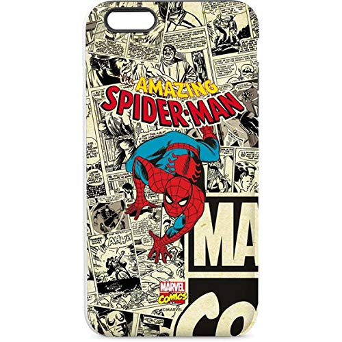 Skinit Pro Phone Case Compatible with iPhone 6/6s Plus - Officially Licensed Marvel/Disney Amazing Spider-Man Comic Design