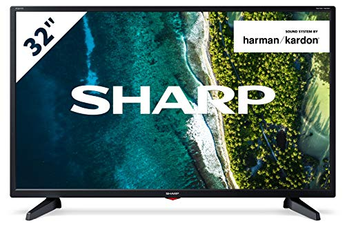 "Televisor Sharp 32CB3E - TV 32 pulgadas 32"" (resolución 1368 x 720, 3X HDMI, 2X USB) Color Negro"