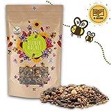 200g Blumenwiese Samen für eine bunte Bienenweide - Farbenfrohe & nektarreiche Wildblumensamen Mischung für Bienen & Schmetterlinge (inkl. GRATIS eBook)