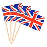 Donoter 100 Pack British Flag ...