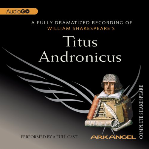 Titus Andronicus audiobook cover art