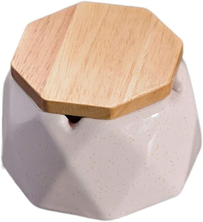 Fengshop Max 88% OFF Ashtray Ceramic with Decorati Storage Boxes Lid Max 48% OFF