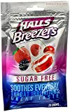 Halls Sugar Free Breezers, Cool Berry 21 ct ( 3 Pack)