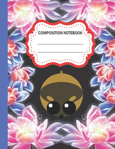 Lemming Composition Notebook: Wide Ruled Paper Notebook Journal   Lemming Composition Notebook For Students kids, teens, and adults