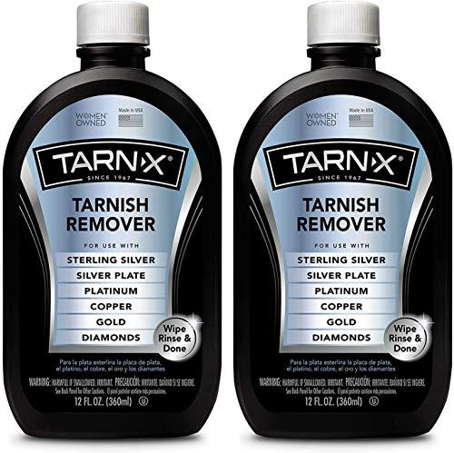 Tarn-X Tarnish Remover, 12 Ounce Bottle. Pack of 2