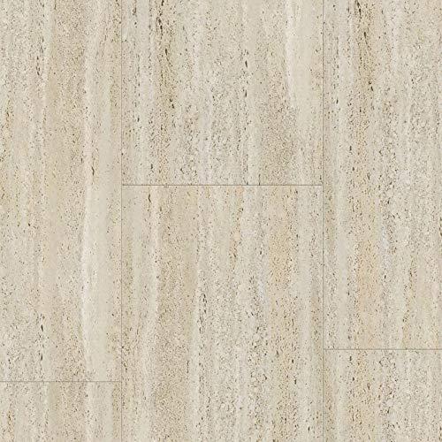 Dalle PVC Adhesive | Gerflor Senso Natural'Travertin' 30,5 x 60,9 cm | 30,5 x 60,9 cm | 1 Paquet = 2.22 m²