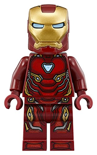 LEGO Marvel Super Heroes Avengers Infinity War Minifigure - Iron Man Tony Stark (76108)