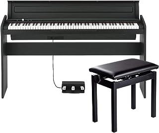 KORG LP-180 BK 高低自在椅子付き 電子ピアノ
