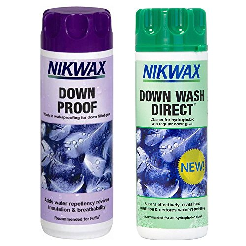 NIKWAX DOWN PROOF EASY USE WASH IN WATERPROOFING FOR DOWN FILLED GEAR by Nikwax