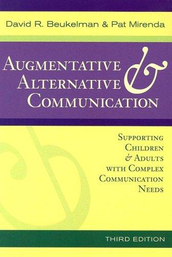 Augmentative & Alternative Communication: Supporting...