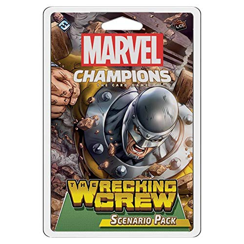 Marvel Champions The Card Game The Wrecking Crew Scenario Pack | Strategy Card Game for Adults and...