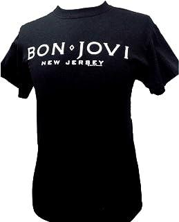 Bon Jovi New Jersey 公式 メンズ Tシャツ ブラック 黒 全サイズ
