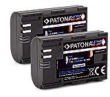 PATONA 2X Platinum LP-E6NH Akku (2250mAh) Qualität mit Infochip - Intelligentes Akkusystem - neueste Generation