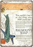 Palmolive Bath Soap ティンサイン ポスター ン サイン プレート ブリキ看板 ホーム バーために