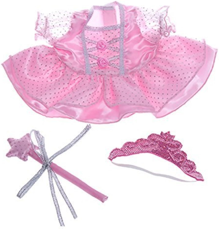 Fairy Princess Dress Wand, Tiara Fits Most Webkinz, Make Your Own Stuffed Animals by Stuffems Toy Shop