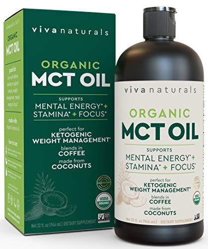 MCT oil, organic