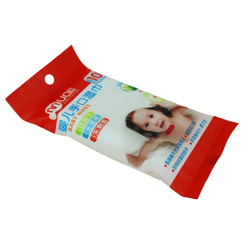 氷店員短命Fan(ファン) 赤ちゃん用おしぼり 携帯用おしぼり 非刺激性 柔軟性 衛生 不織布製