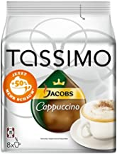 Tassimo Jacobs Cappuccino, 16 T-Discs (8 Servings)