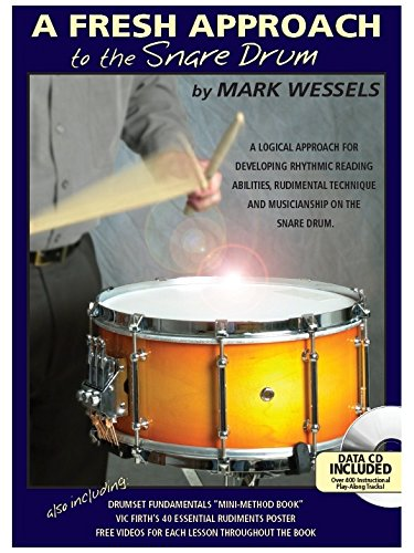 Mark Wessels: A Fresh Approach To The Snare Drum. Für Schlagzeug, Percussion