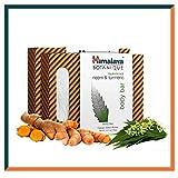Himalaya Botanique Purifying Neem & Turmeric Soap Bar, Free from Parabens, SLS, Phthalates,...