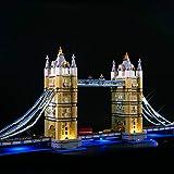 Lommer Kit de luz LED para Lego 10214 Creator Expert Tower Bridge, kit de iluminación para Lego 10214 (sólo incluye luces, sin kit de Lego)