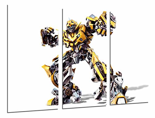 Poster Fotográfico Transformers Amarillo, Autobots, Bumblebee, Blanco Tamaño total: 97 x 62 cm XXL