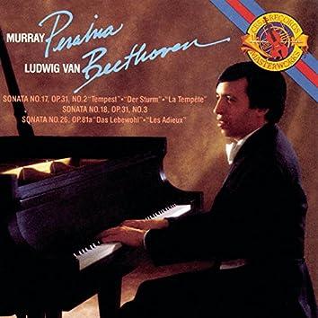 Beethoven: Piano Sonatas Nos. 17, 18 & 26