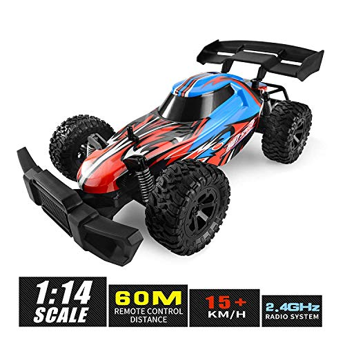 Remote Control Car, 1:14 Large Size High Speed Off Road Kids RC Racing Car Boys Radio Controlled Crawler Electronic Vehicle Truck