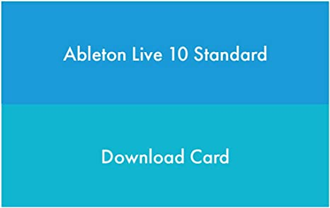 Ableton Multitrack Recording Software (Live 10 Standard)