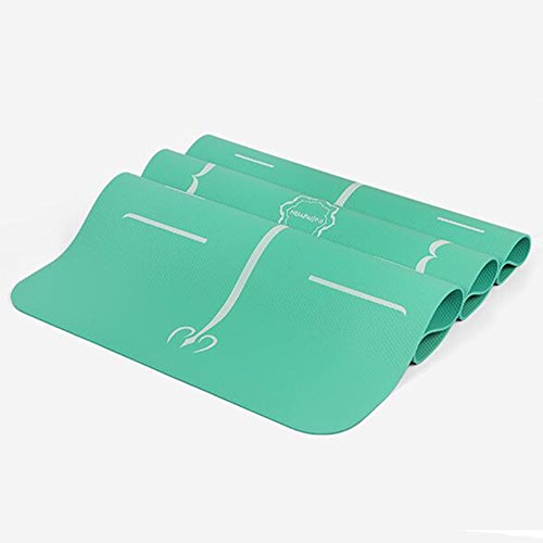 DNSJB Tapis Professionnel de Yoga Tapis antidérapant allongé de Yoga Tapis de Forme Physique de Sports Tapis de Dessus