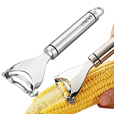 Corn Stripper Thresher Peelers Stainless Steel Corn Stripping Tool Kitchen Gadget
