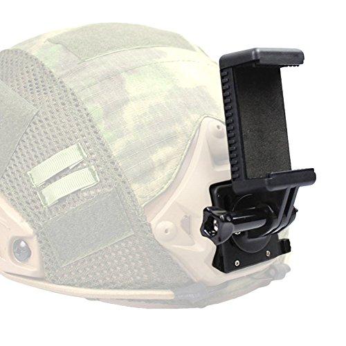 Adaptador de Montaje en cámara Tactical Helmet Fast Mich para Gopro Hero 1234 Fast AF M88 Mich Wendy Teléfono móvil NVG Sport Ation Camera Mount Base