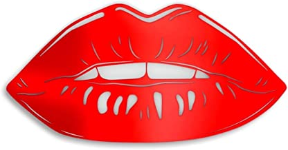4ArtWorks - Gloss Lips 3D Wall Art - Ready to Hang Acrylic Wall Decorations for Bedrooms, Dorms, Living Rooms & More - Hand Assembled & Made in The USA - Modern Home Decor (26