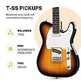 Immagine 1 donner telecaster chitarra elettrica kit