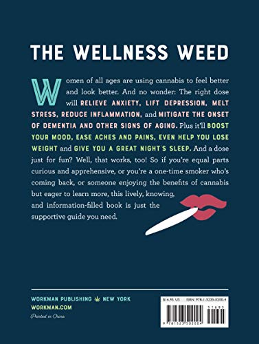 514JIwsSEIL - A Woman's Guide to Cannabis: Using Marijuana to Feel Better, Look Better, Sleep Better–and Get High Like a Lady
